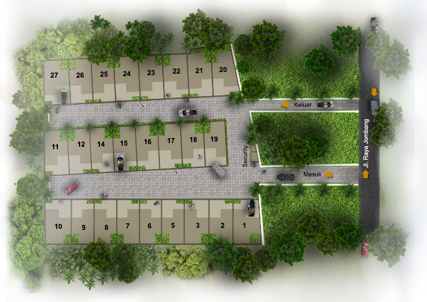 SITE PLAN - Royale Bintaro 2
