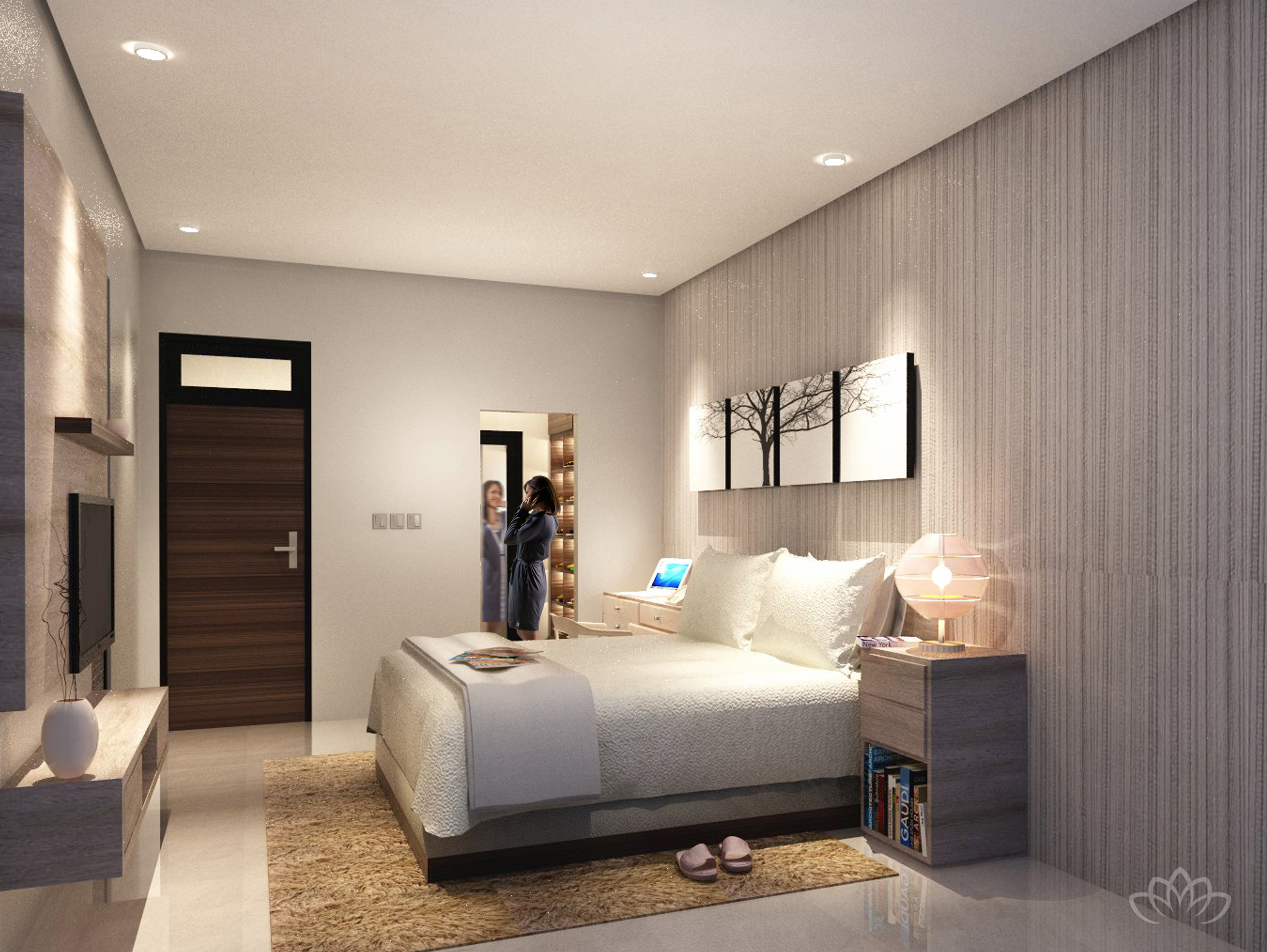 LIVING ROOM Royale Bintaro 2