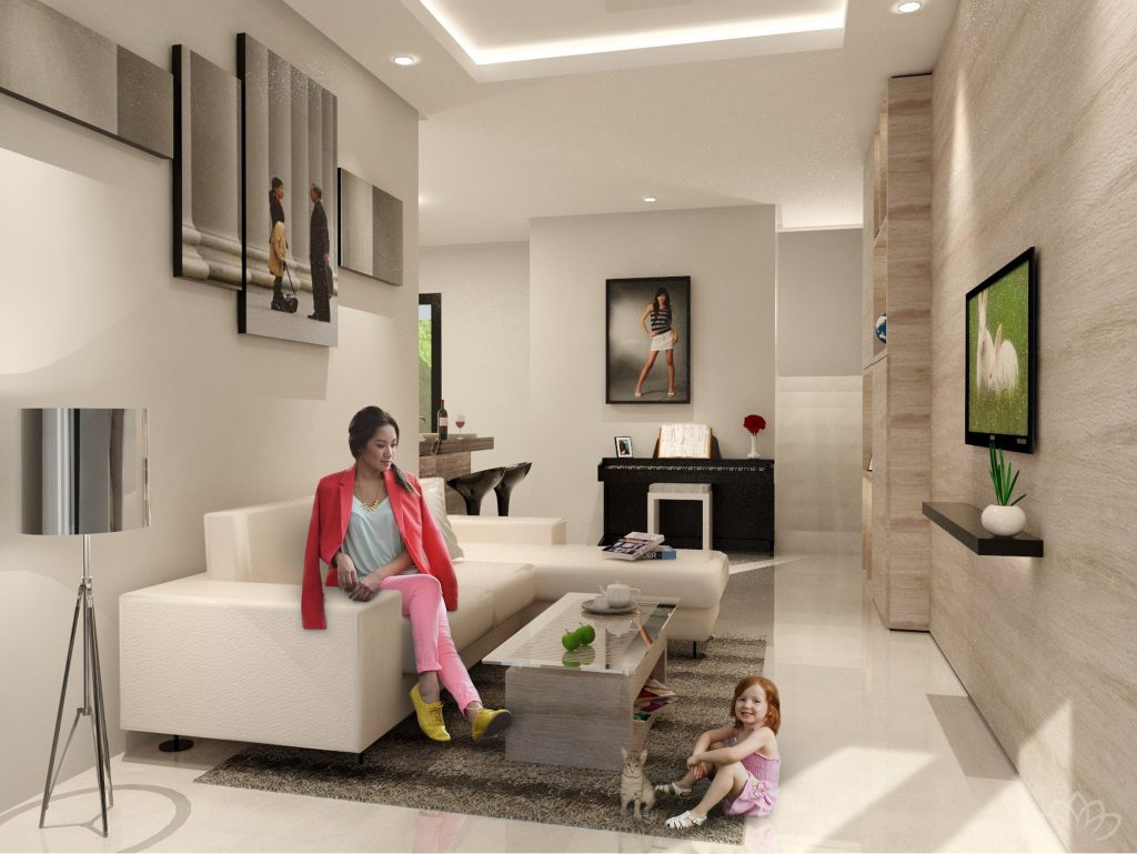 LIVING ROOM - Royale Bintaro 2